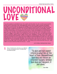 GT Theme - Unconditional Love
